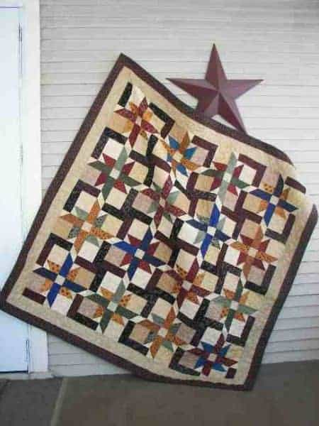 Fat quarter and Jelly Roll friendly scrappy lap quilt