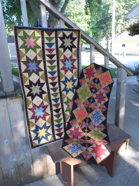 scrappy stars quick table runners