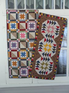 quick scrappy table runner pattern stars and scraps