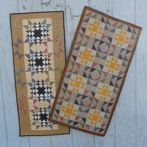 scrappy stars table runner pattern