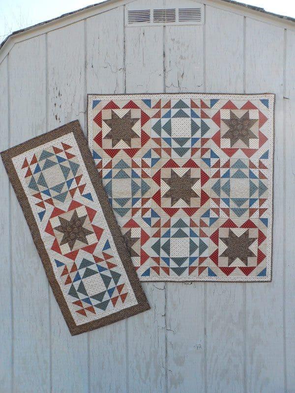 Homespun Country quilt pattern
