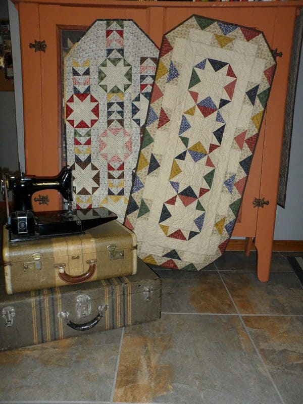 Country Fair table runner quilt patterns