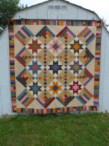 Skylight quilt pattern by Snuggles Quilts