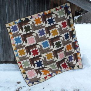 Star Struck lap quilt pattern