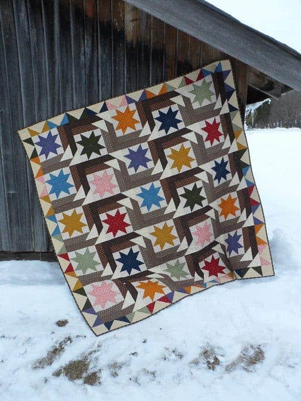 Star Struck lap quilt pattern