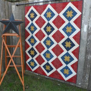 Liberty Star Shine quilt pattern