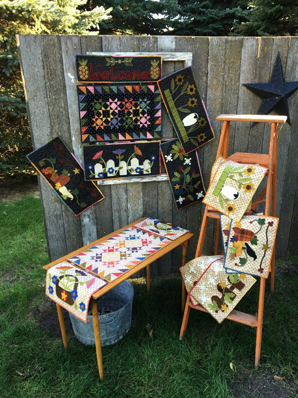 Snappy Seasons quilt patterns