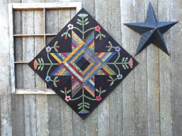String Along Blooms quilt pattern by Deanne Eisenman