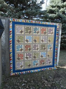 traditions scrappy basket pattern lap quilt