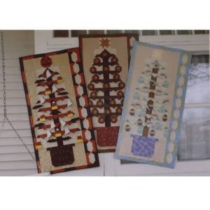 Holiday tree wall hangings for Halloween Christmas and Easter