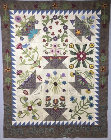 Time to Finish the 2017 BOM! – Snuggles Quilts
